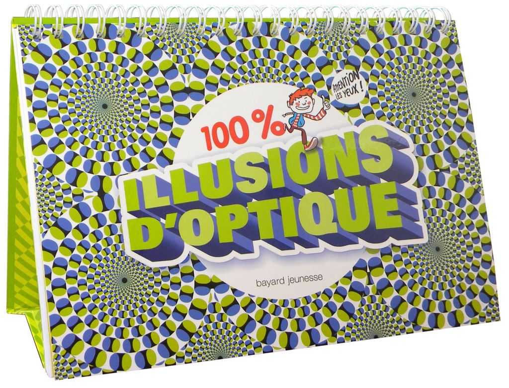 Couverture de « 100 % illusions d'optique »