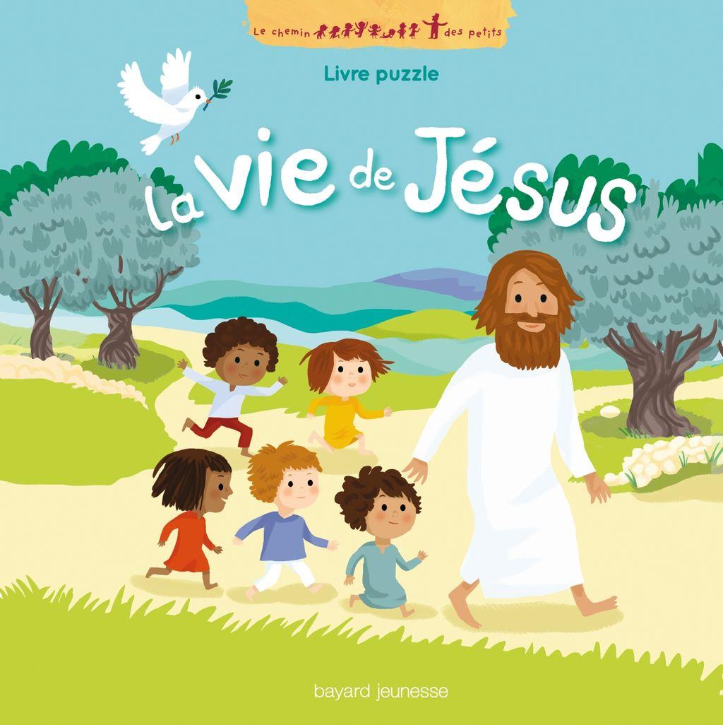 «La vie de Jésus en puzzle» cover