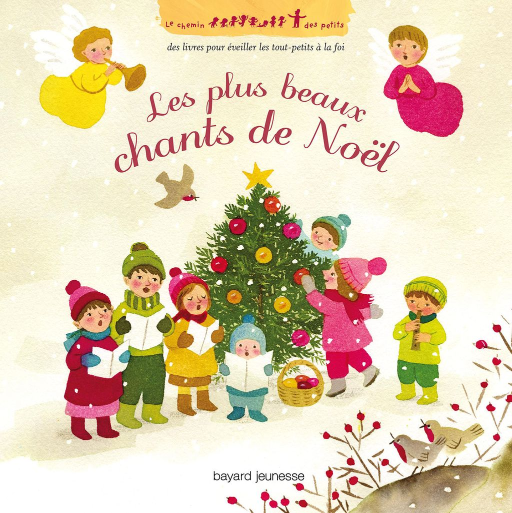 Couverture de « Les plus beaux chants de Noël + CD »