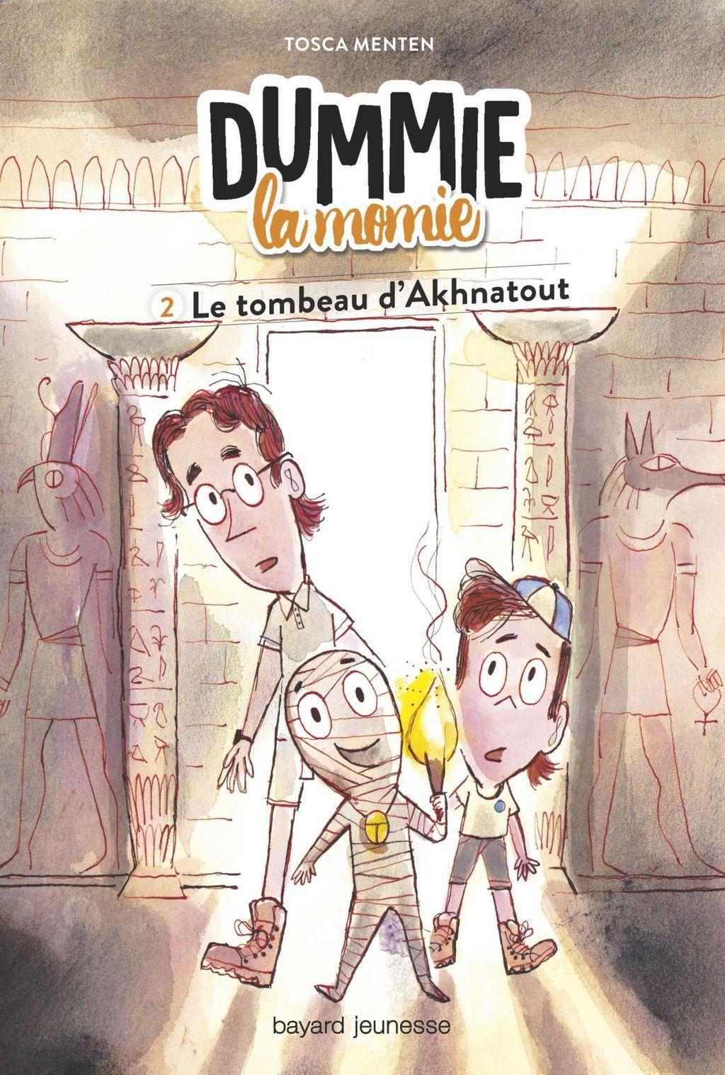 Couverture de «Dummie la momie et le tombeau d'Akhnatout»