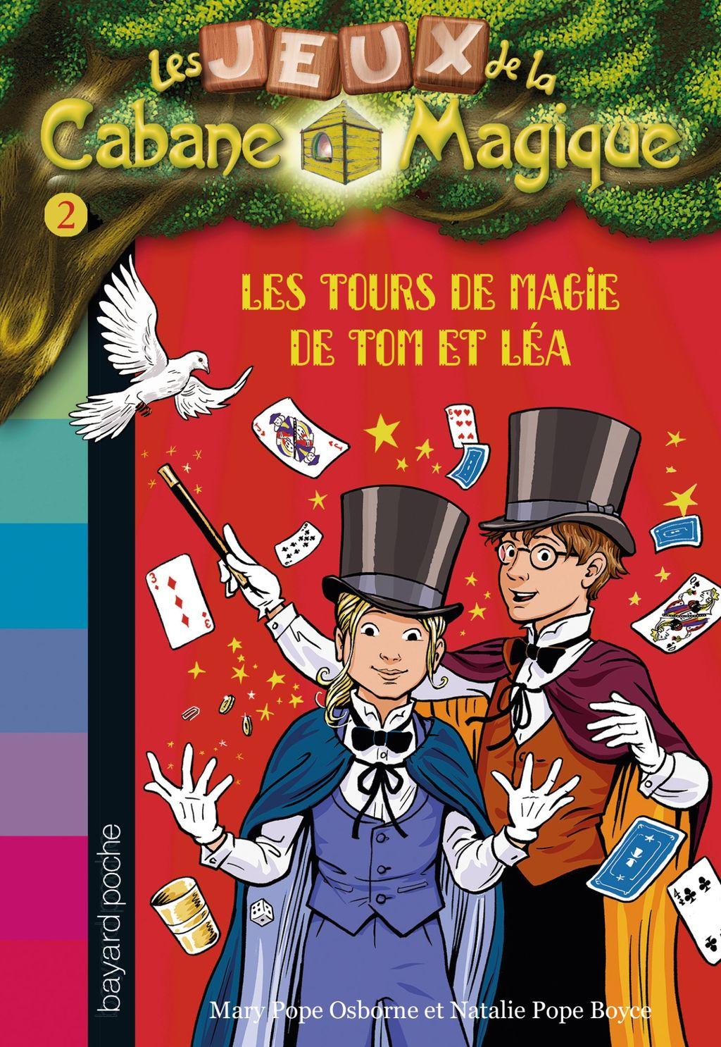 Couverture de «Les tours de magie de Tom et Léa»