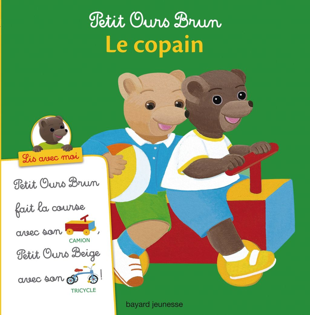 Couverture de «Petit Ours Brun, Lis avec moi – Le copain»