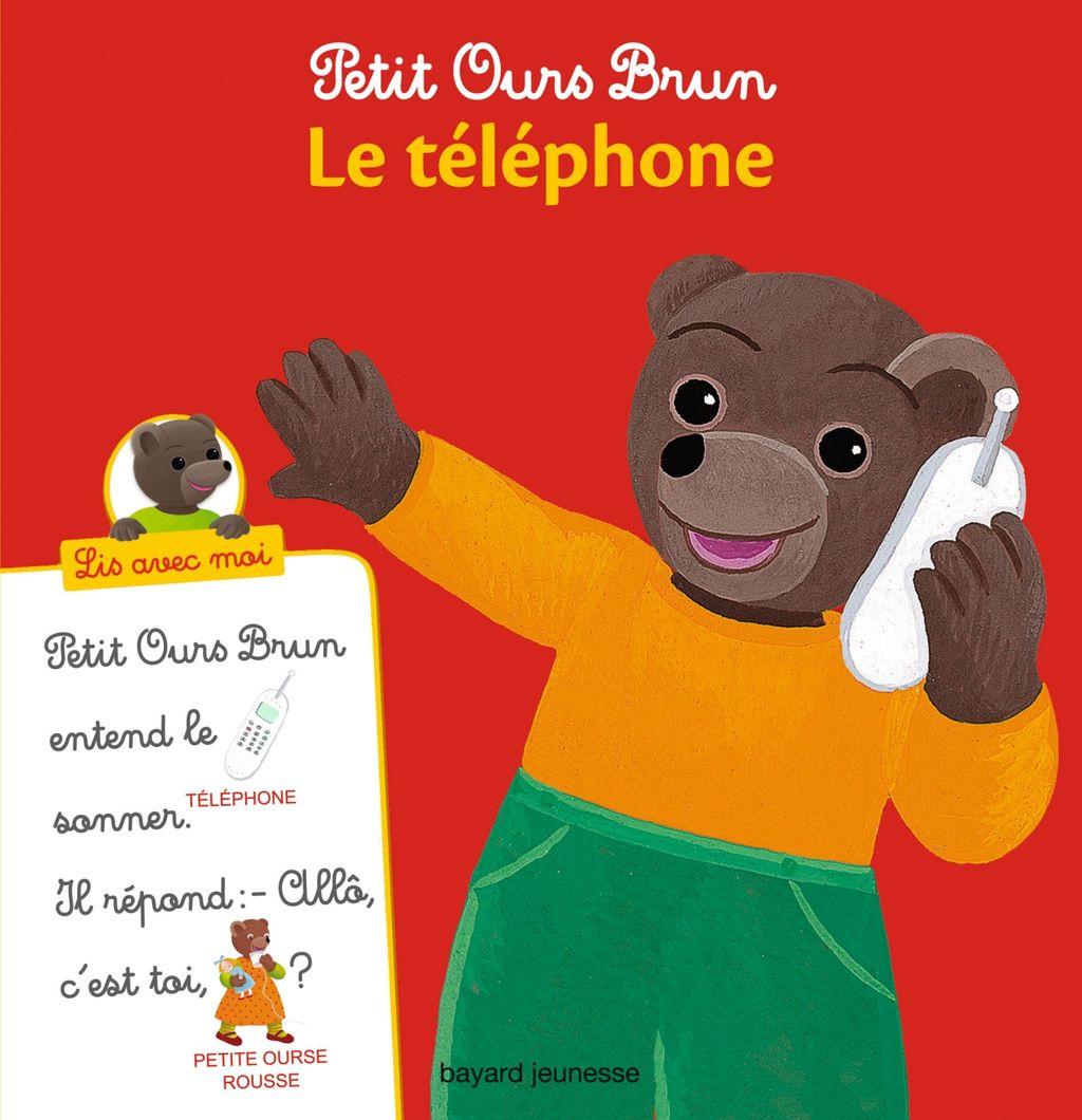 Couverture de «Petit Ours Brun, Lis avec moi – Le téléphone»