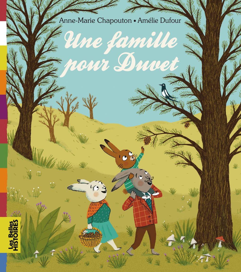 «Une famille pour Duvet» cover