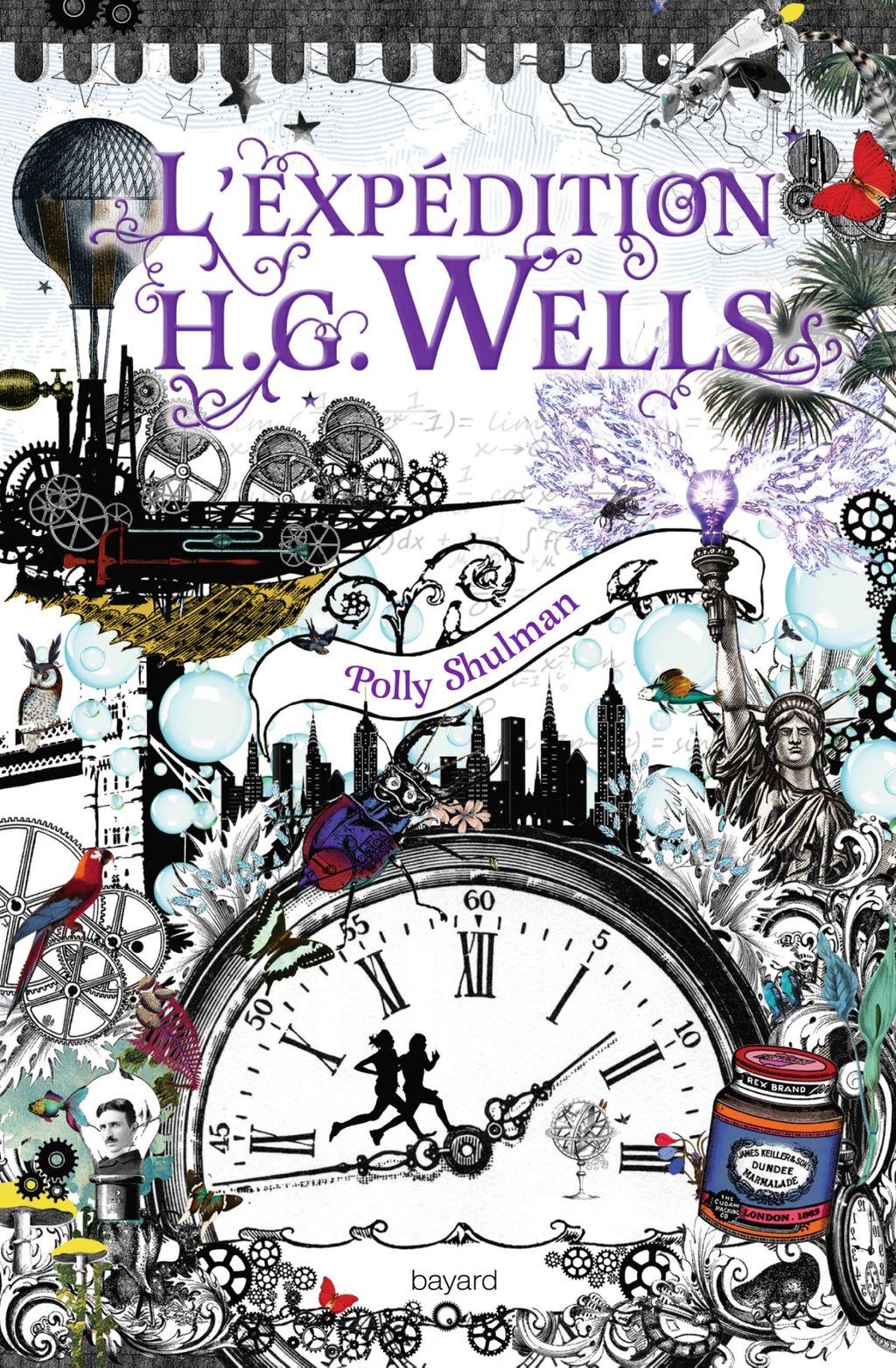 Couverture de «L'expédition H.G. Wells»