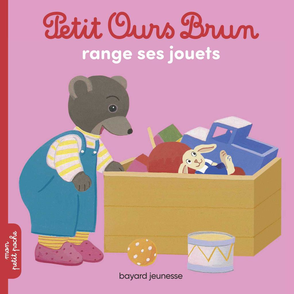 Couverture de «Petit Ours Brun range ses jouets»