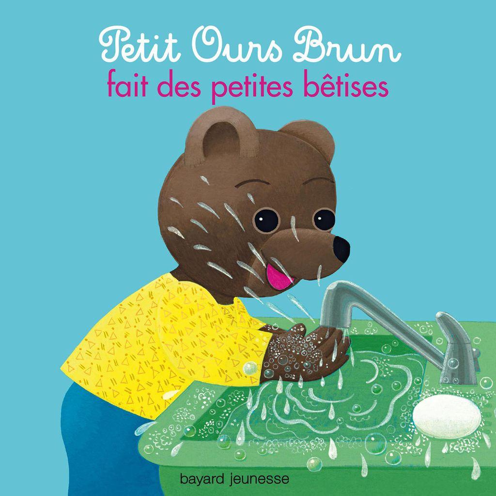 Couverture de «Petit Ours Brun fait des petites bêtises»