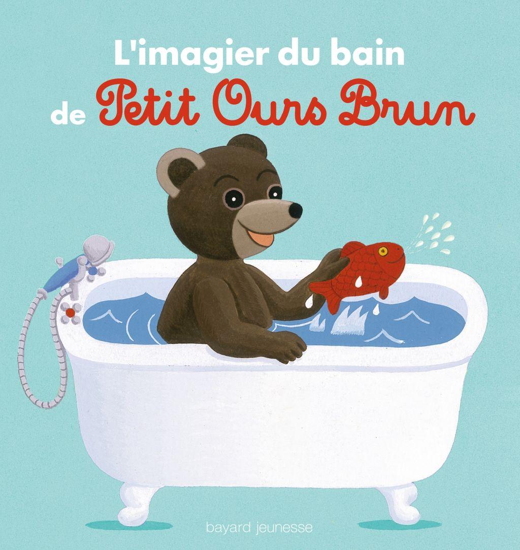 Couverture de «L'imagier du bain de Petit Ours Brun»