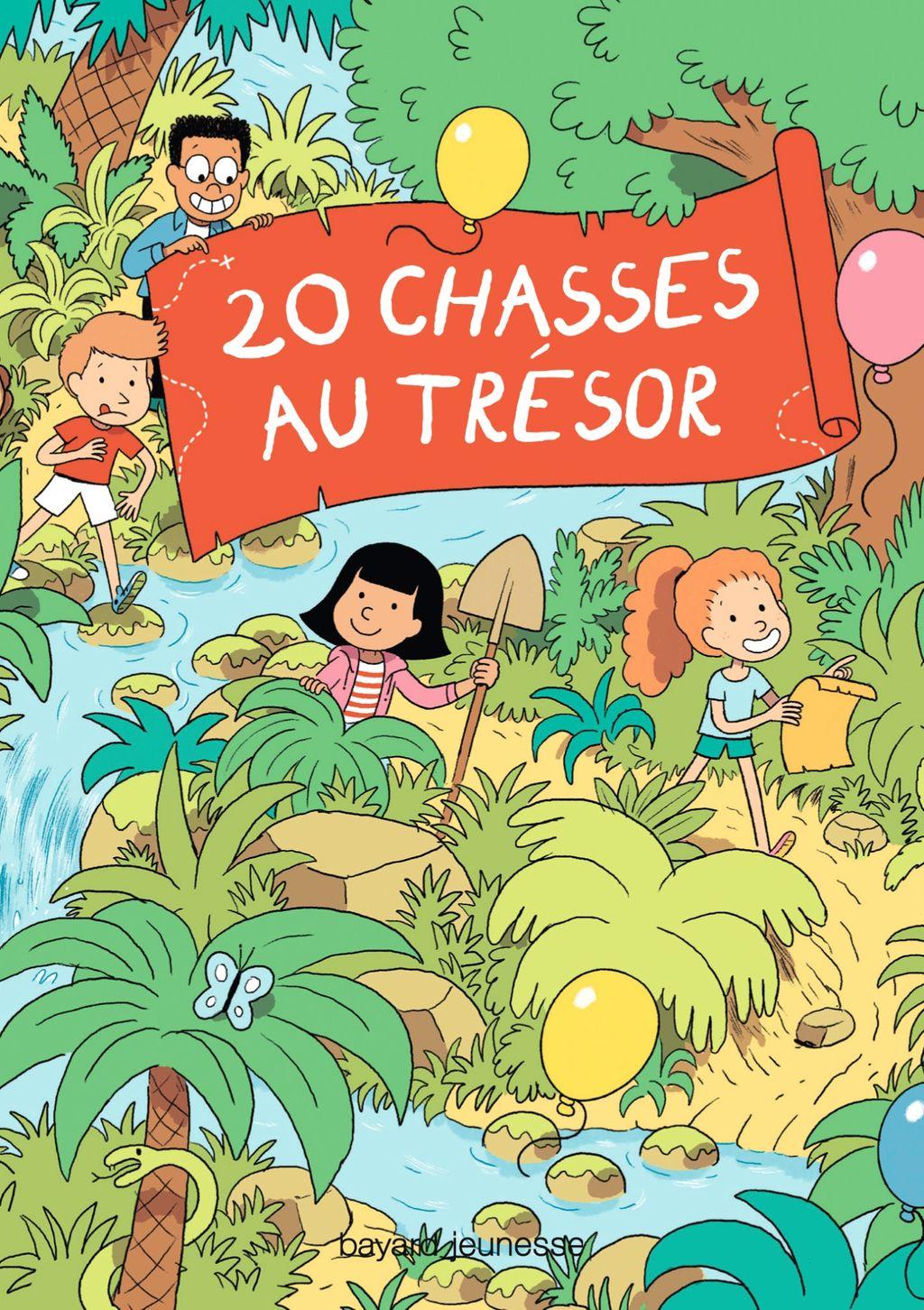 Couverture de «20 Chasses au trésor»
