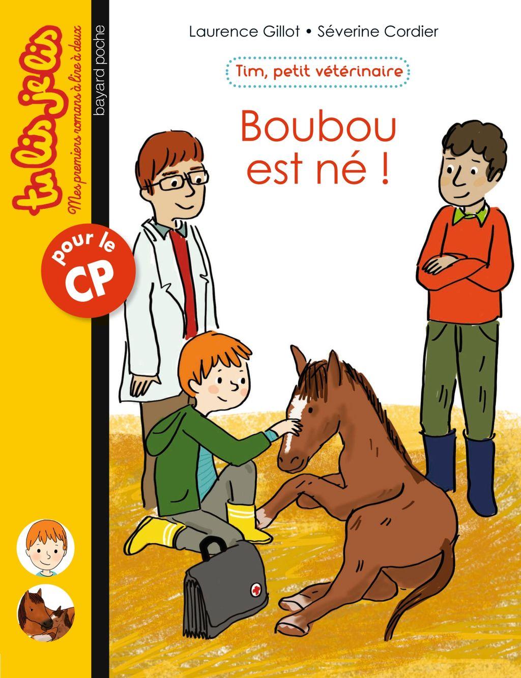 Couverture de «Boubou est né»