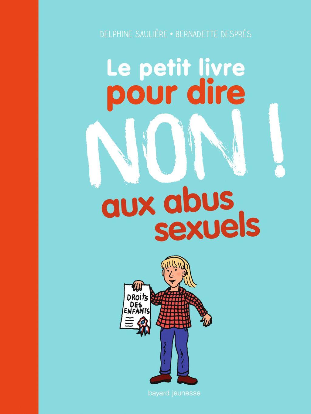 Couverture de «Le petit livre pour dire NON ! aux abus sexuels»