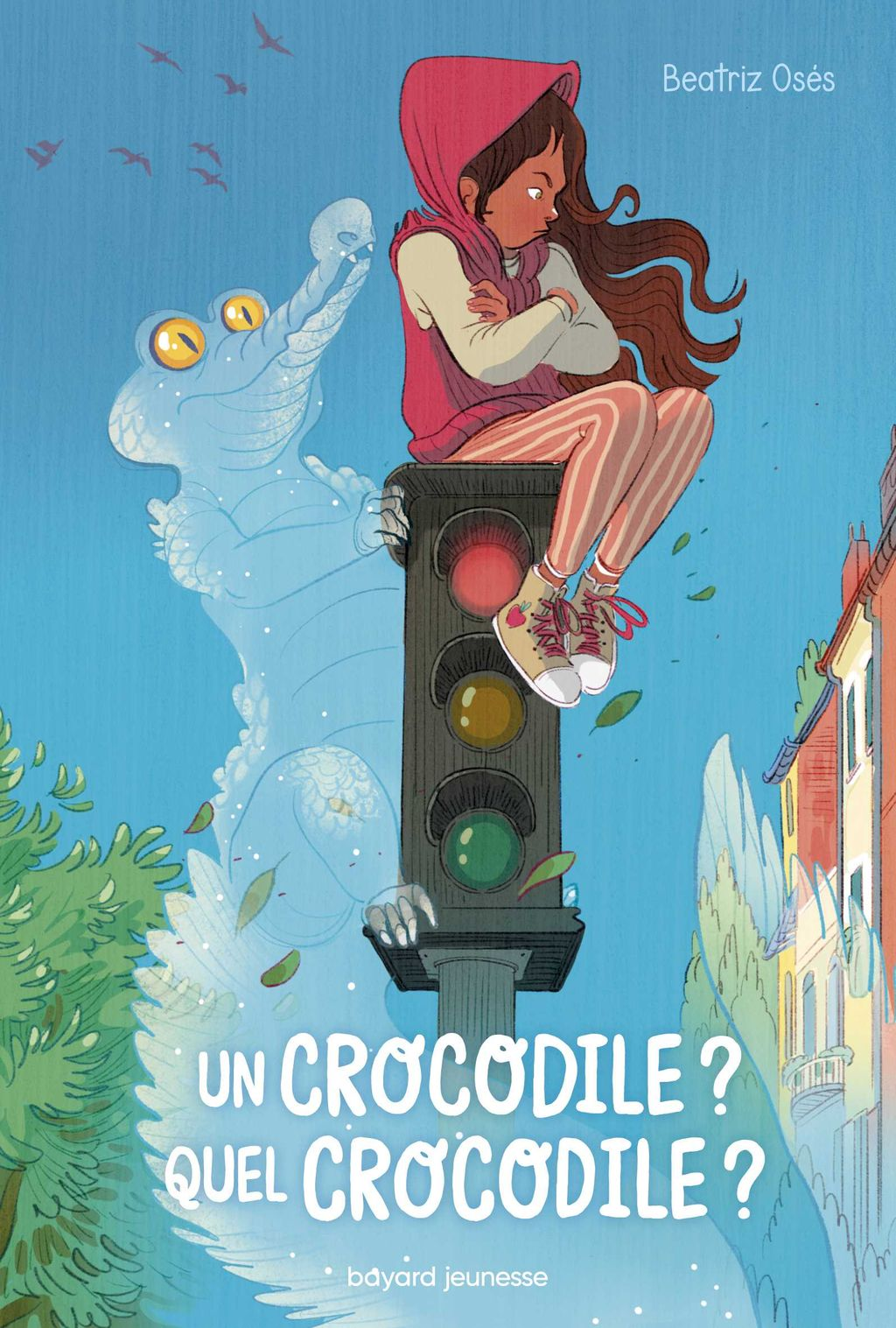 Couverture de « Un crocodile? Quel crocodile? »
