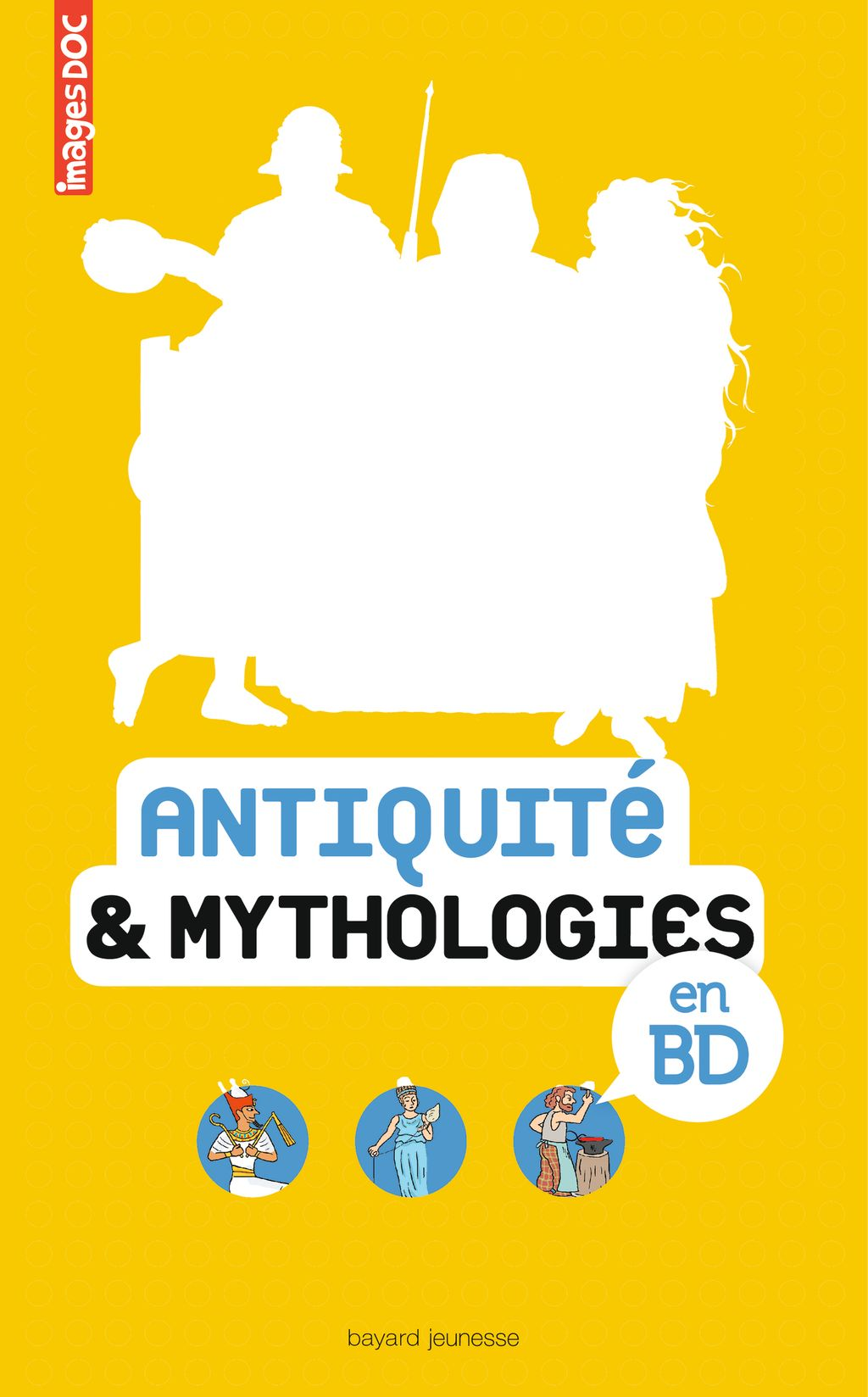 Couverture de « Antiquité & mythologies en BD »