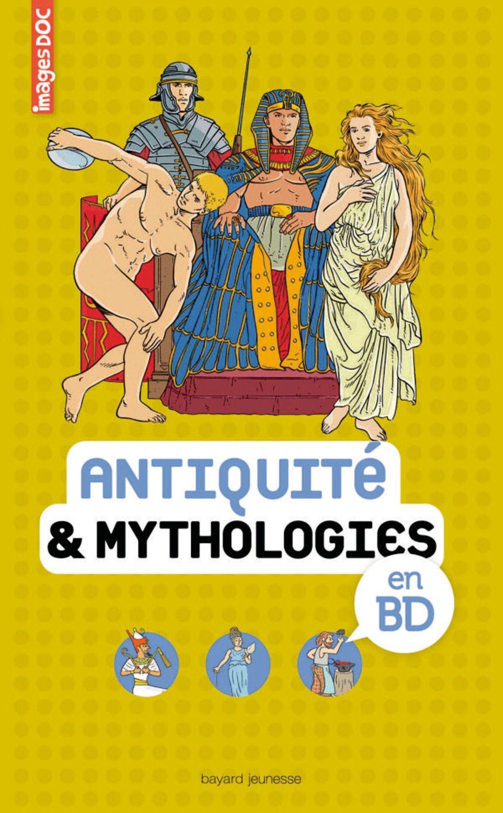 Couverture de «Antiquité & mythologies en BD»