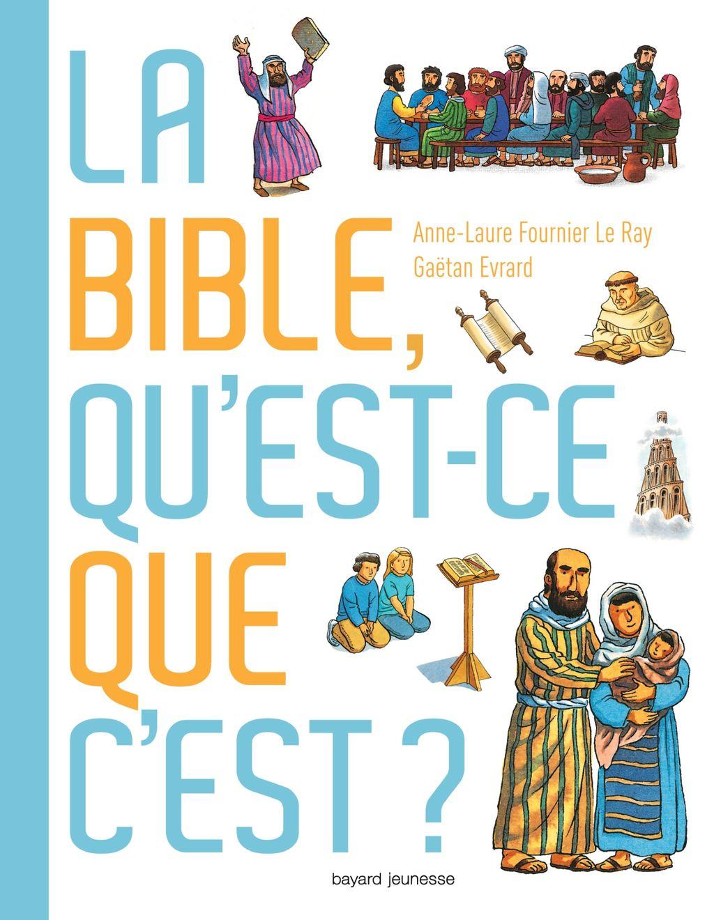 «La Bible, qu'est-ce que c'est ?» cover