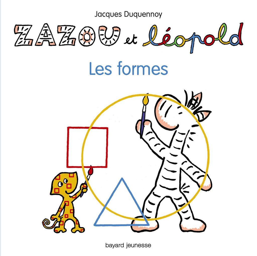 «Zazou et Léopold – Les formes» cover