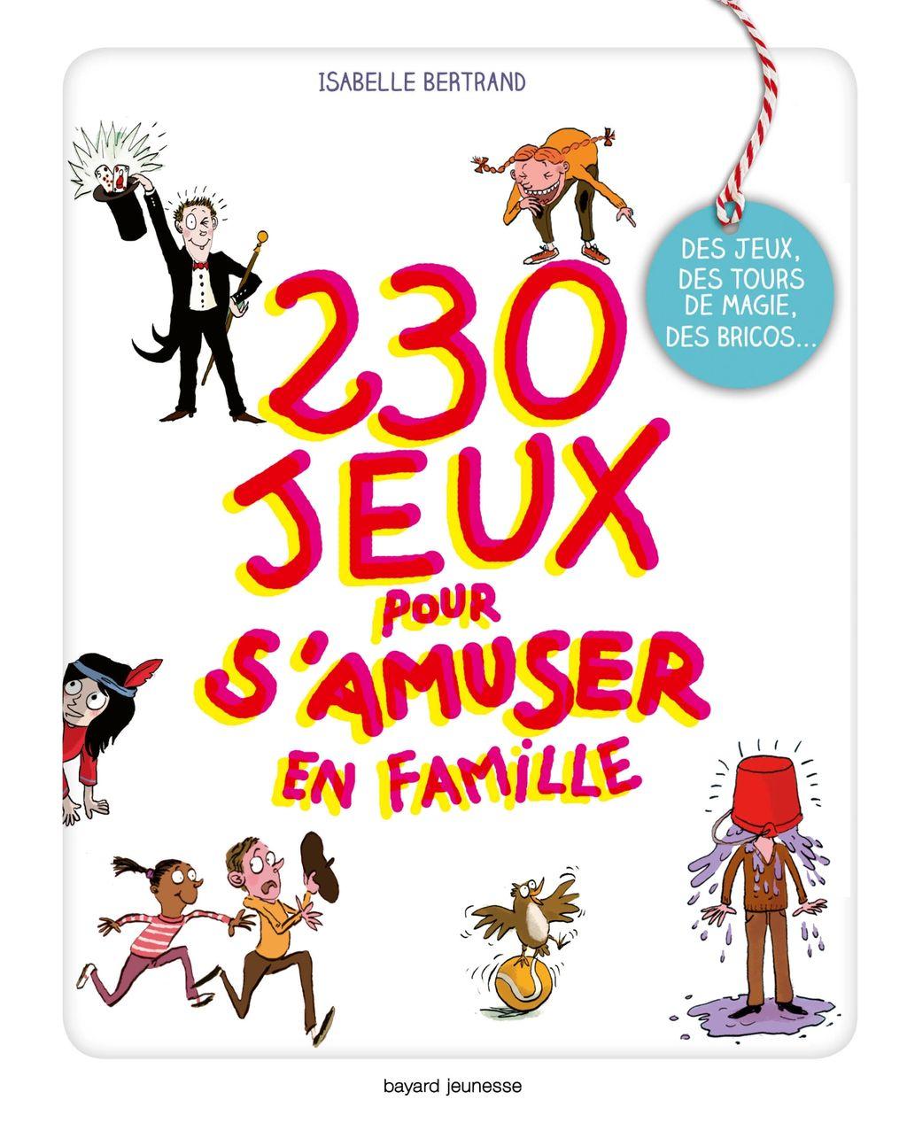Couverture de «232 jeux pour s'amuser en famille»