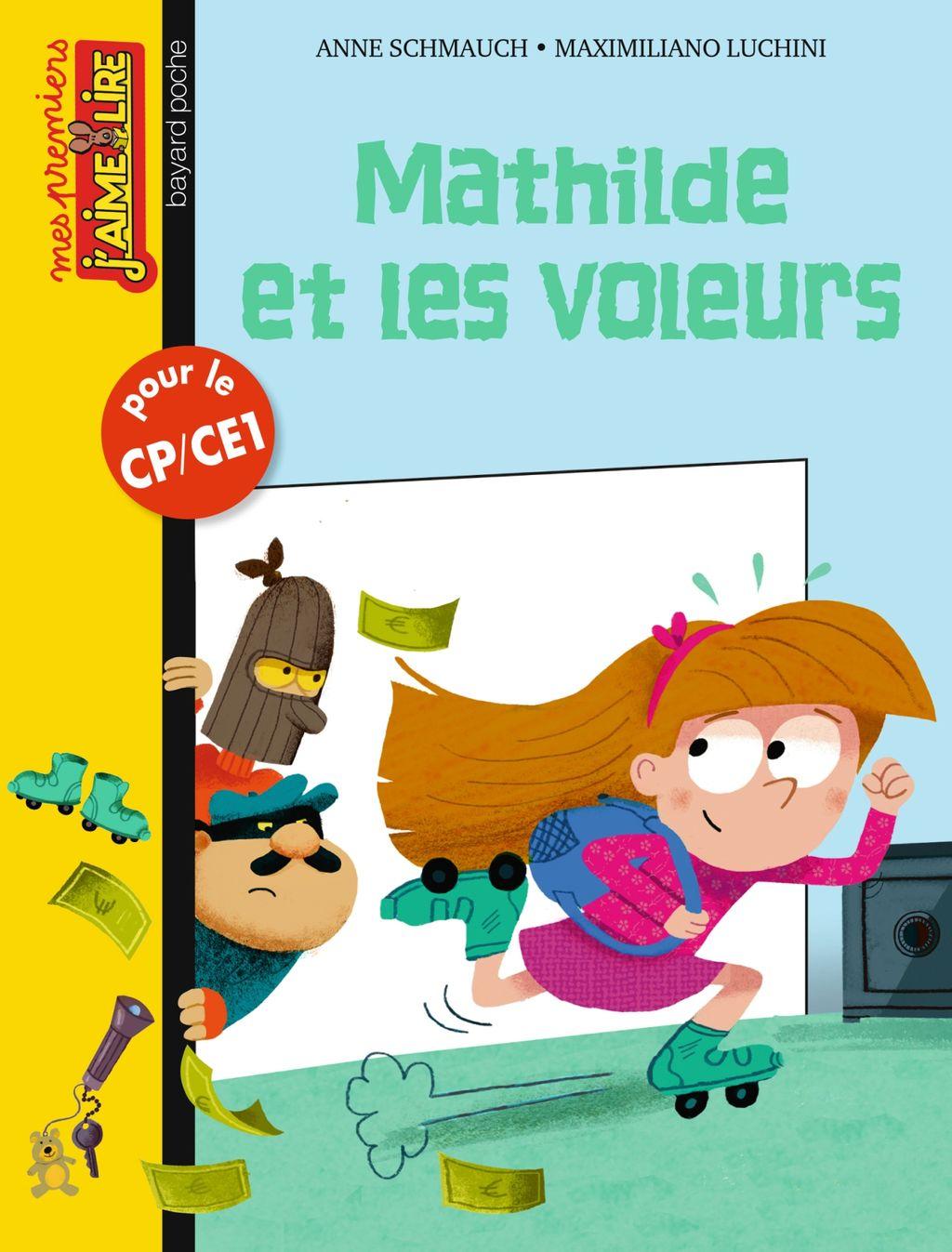 «Mathilde et les voleurs» cover