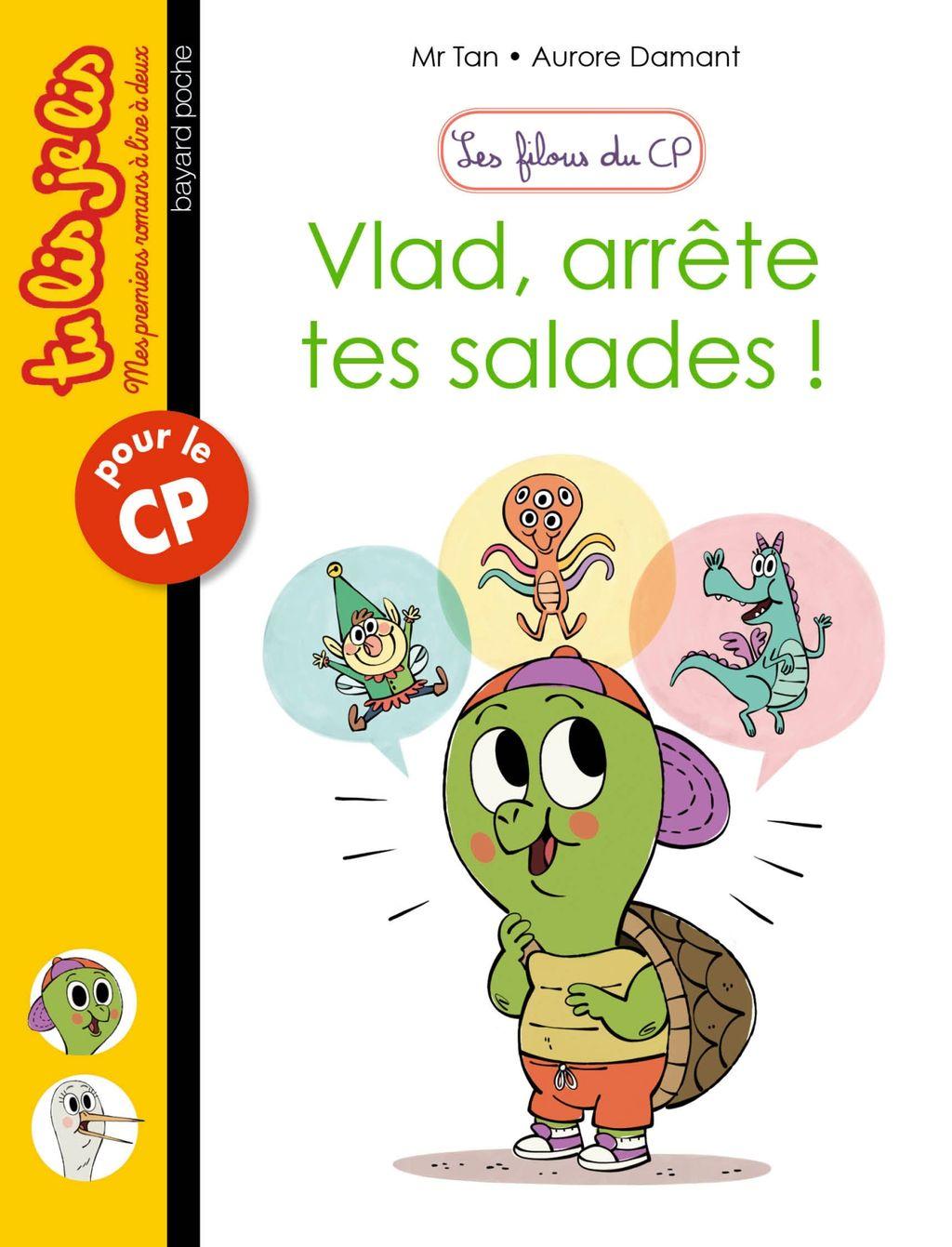 Couverture de «Vlad, arrête tes salades»