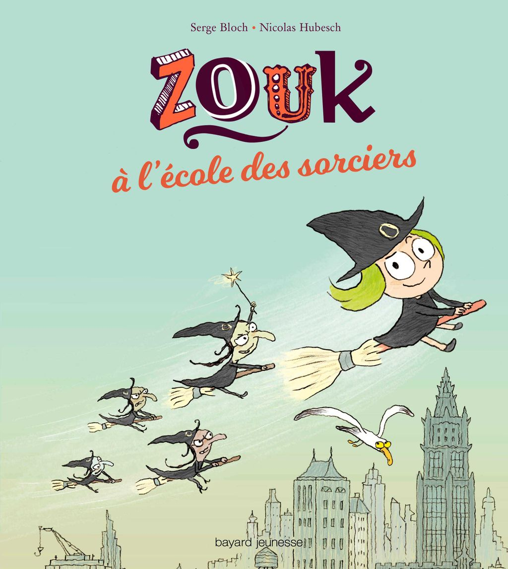 Couverture de «Zouk à l'école des sorciers»