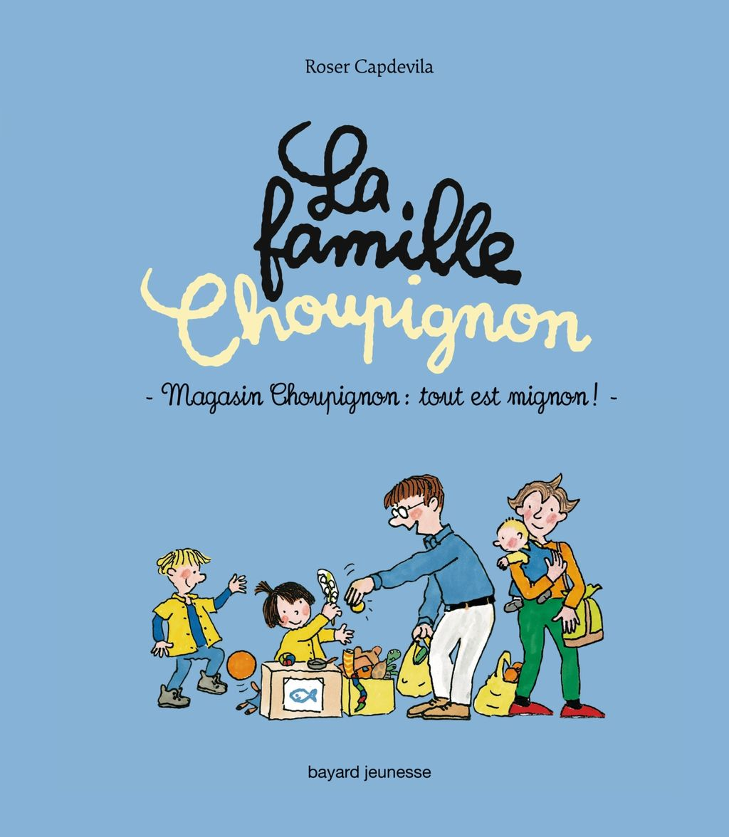Couverture de «Magasin Choupignon, tout est mignon !»