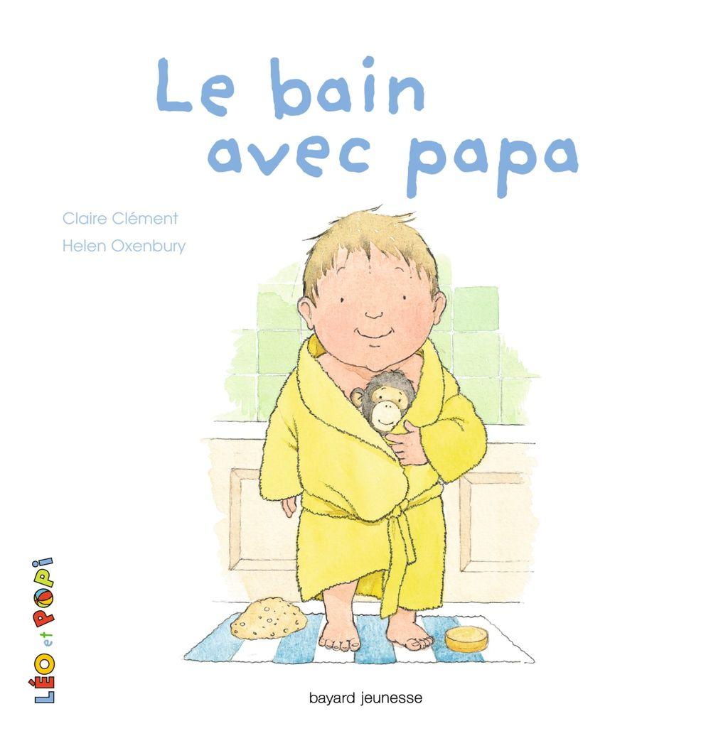 Couverture de «Léo et Popi – Le bain avec papa»
