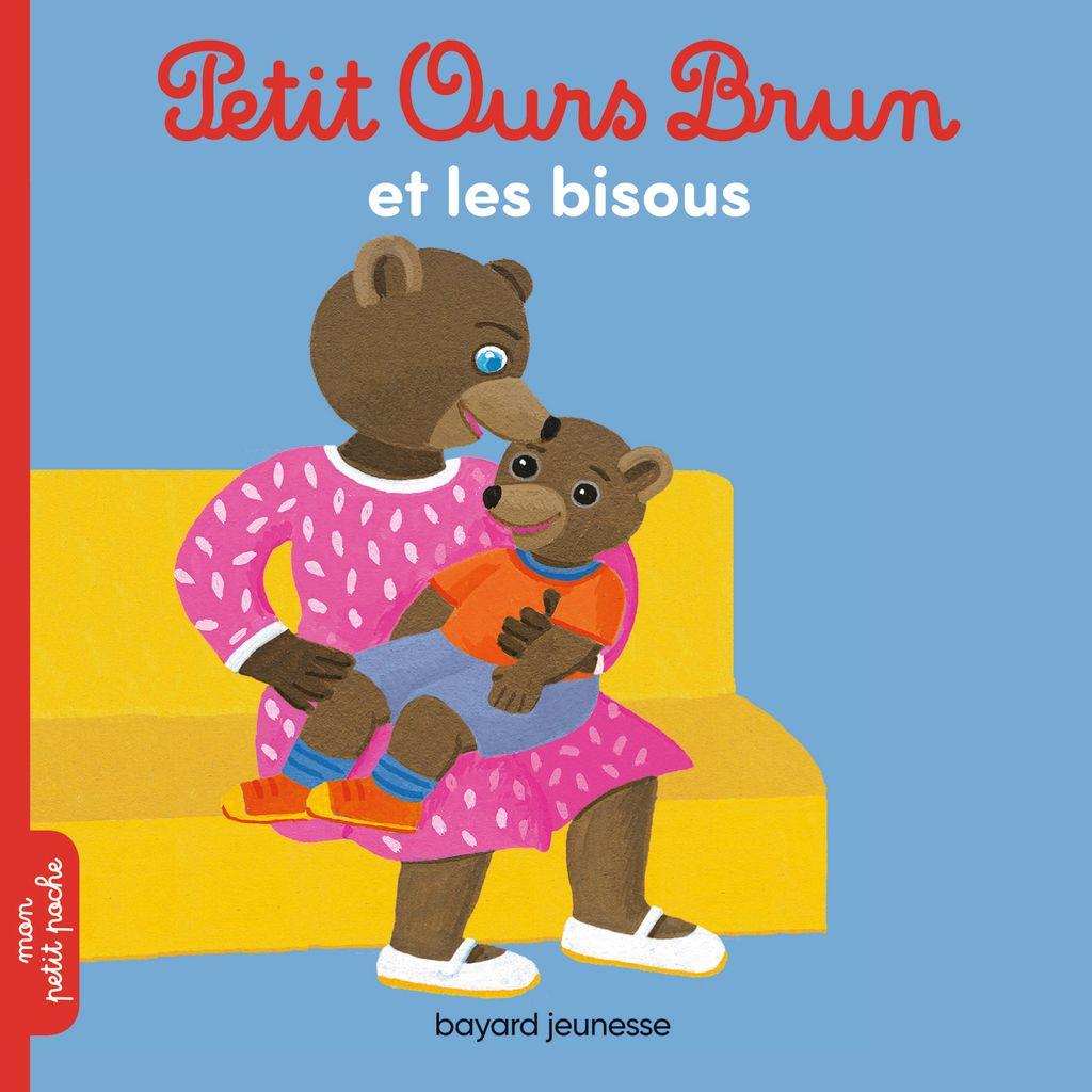 Couverture de «Petit Ours Brun et les bisous»
