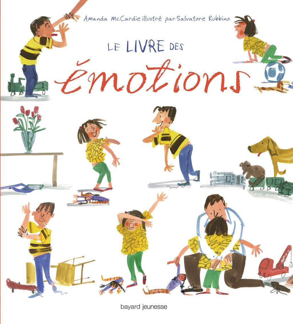 Couverture de «Le livre des émotions»