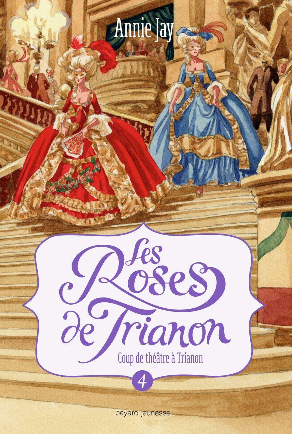«Les roses de Trianon» cover