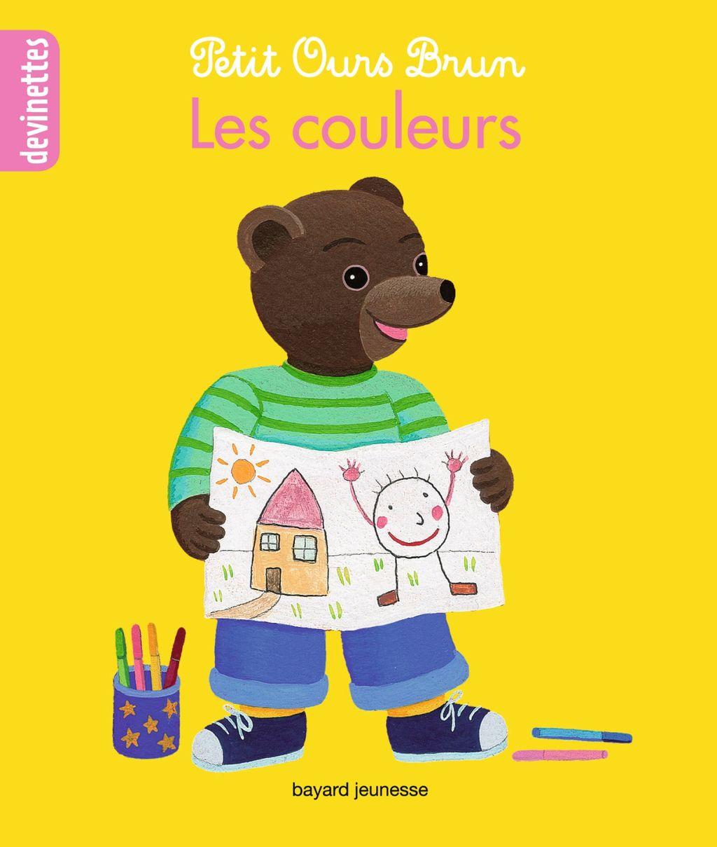 Couverture de «Petit Ours Brun devinettes – Les couleurs»