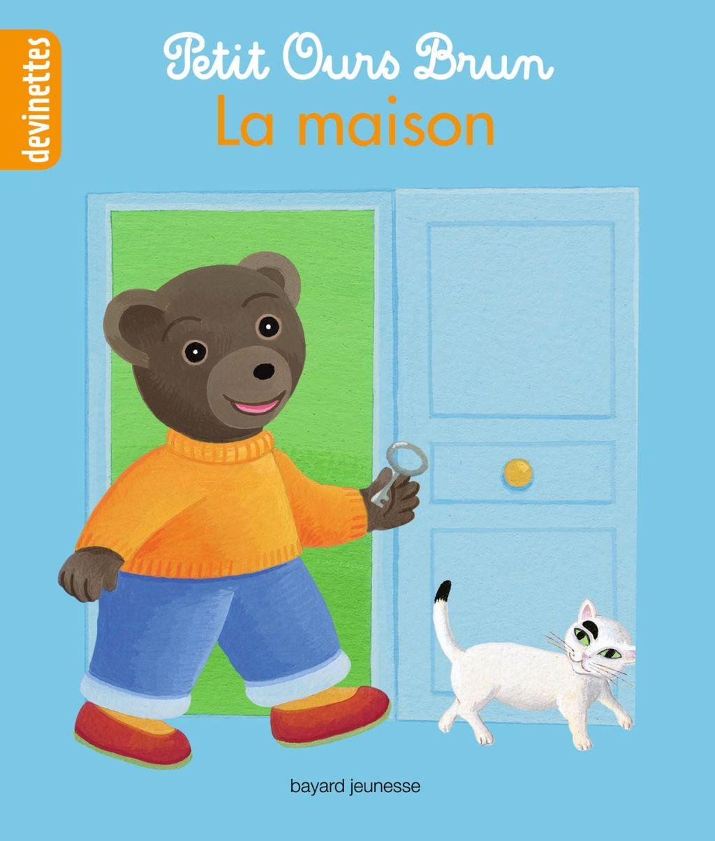 Couverture de «Petit Ours Brun devinettes – La maison»