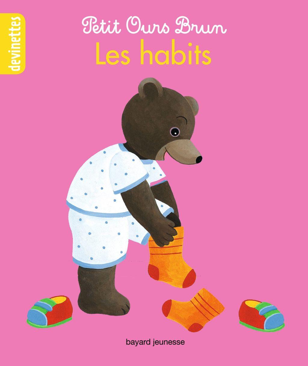 Couverture de «Petit Ours Brun devinettes – Les habits»