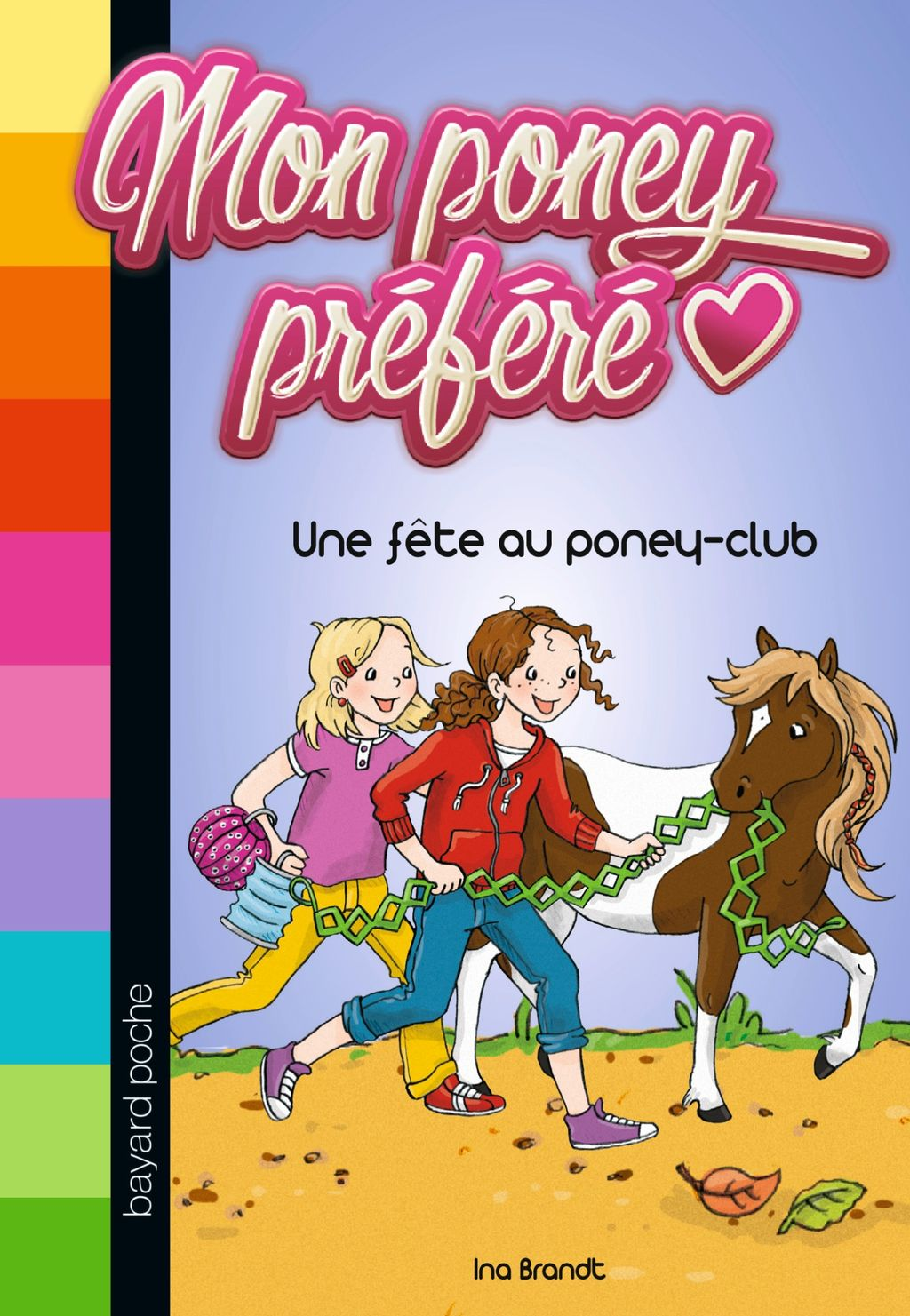 Couverture de «Une fête au poney-club»