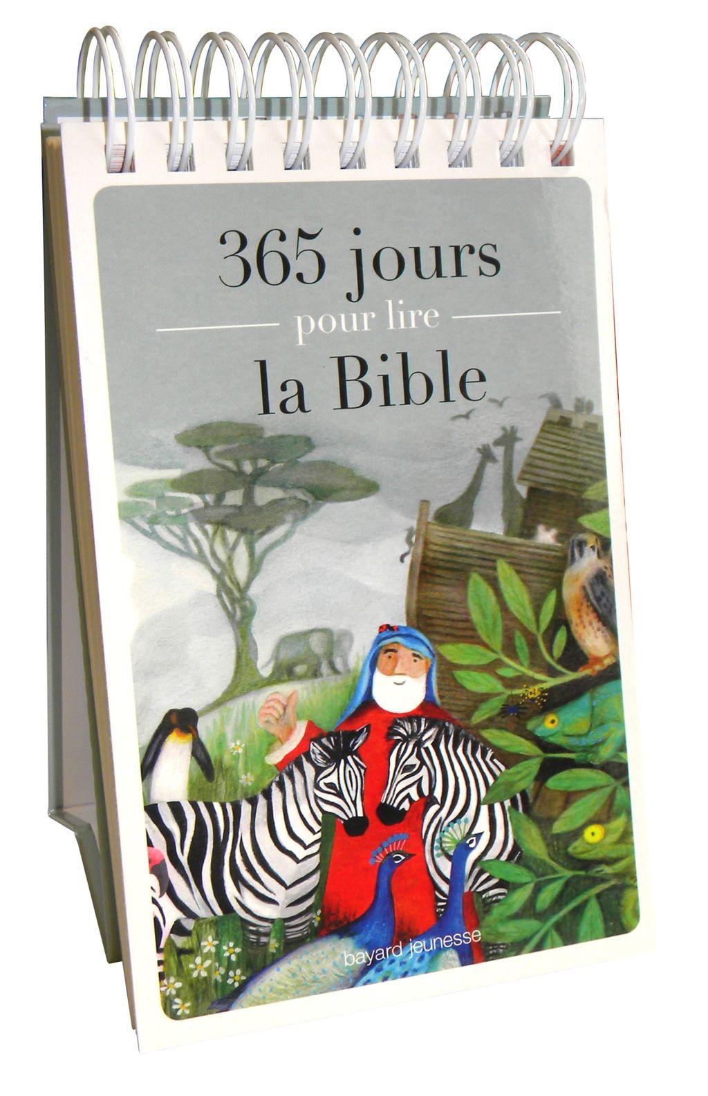 Couverture de «365 jours pour lire la Bible»