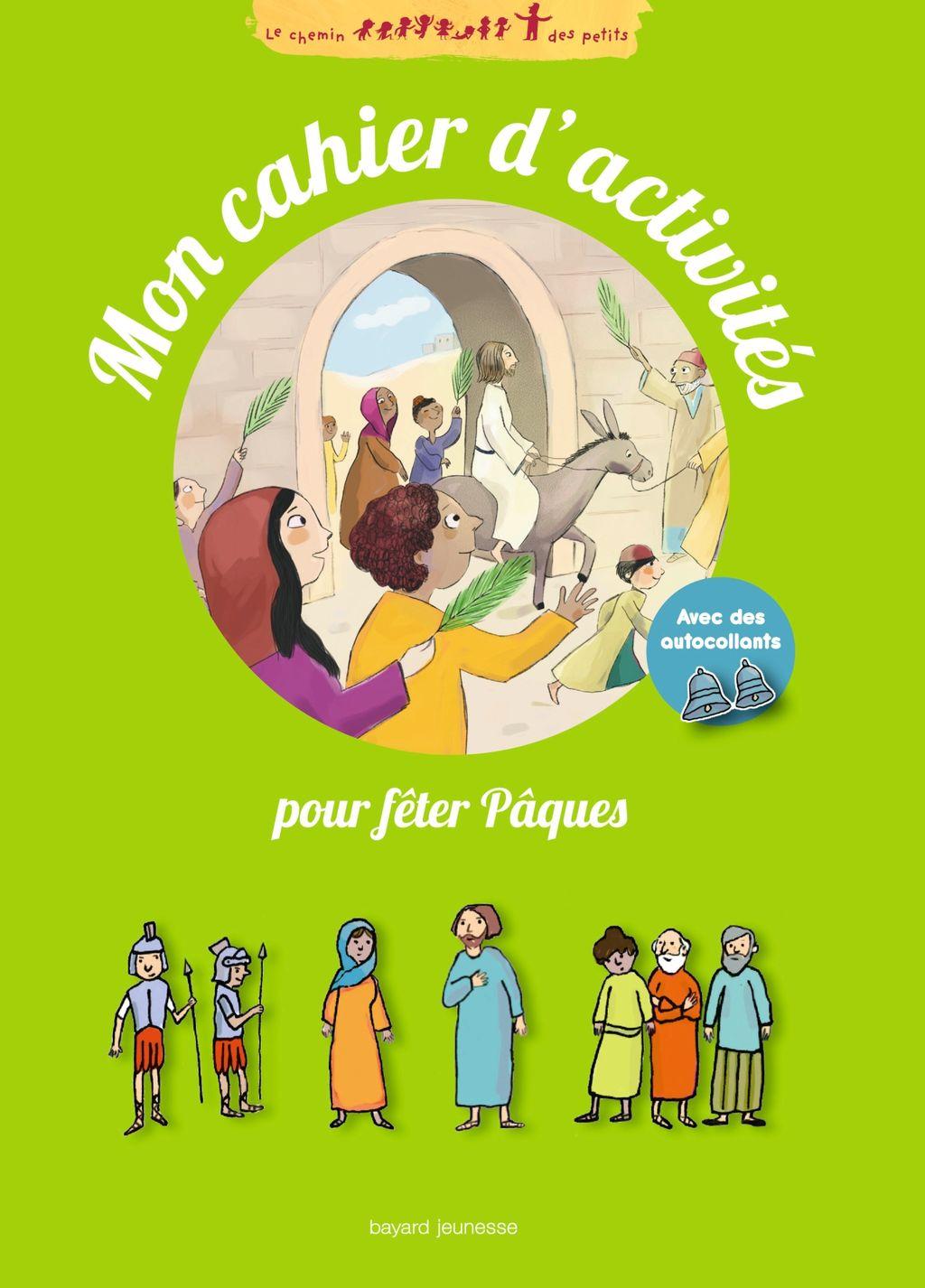 «Mon cahier d'activités pour fêter Pâques» cover