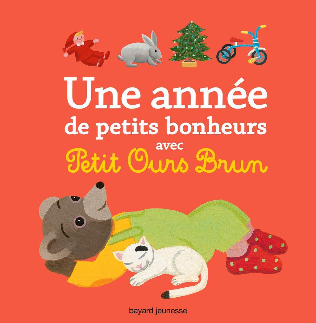 Couverture de «Une année de petits bonheurs avec Petit Ours Brun»