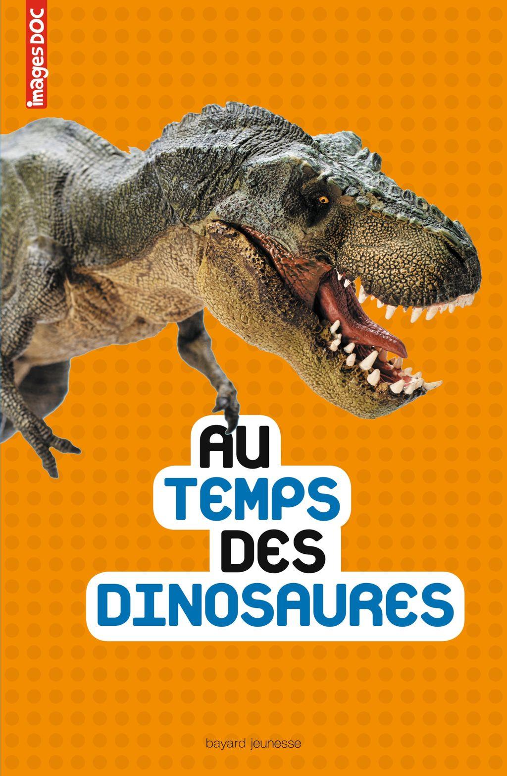 «Au temps des dinosaures» cover