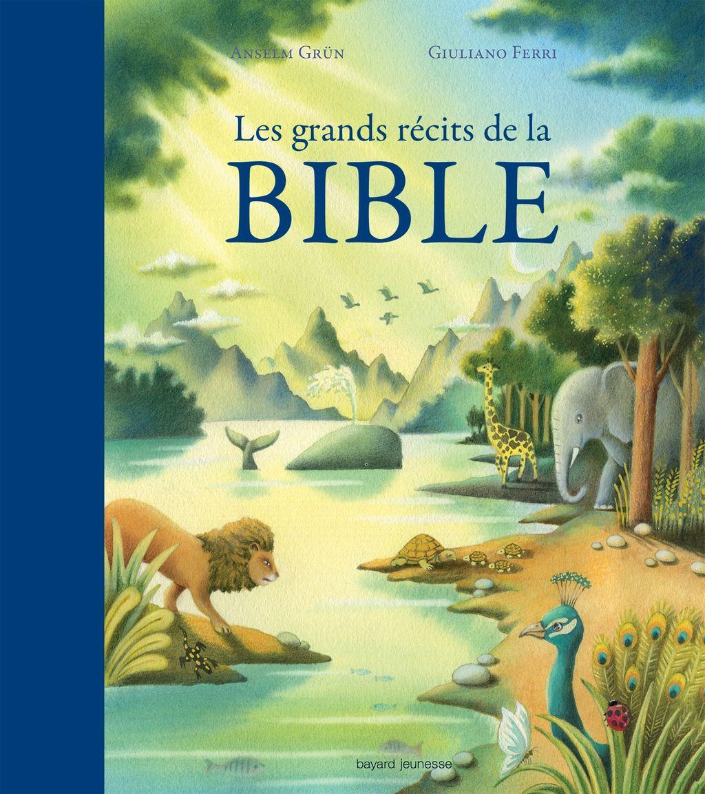 Couverture de «Les grands récits de la Bible»