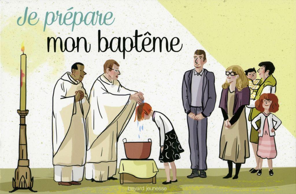 Couverture de «Je prépare mon baptême»