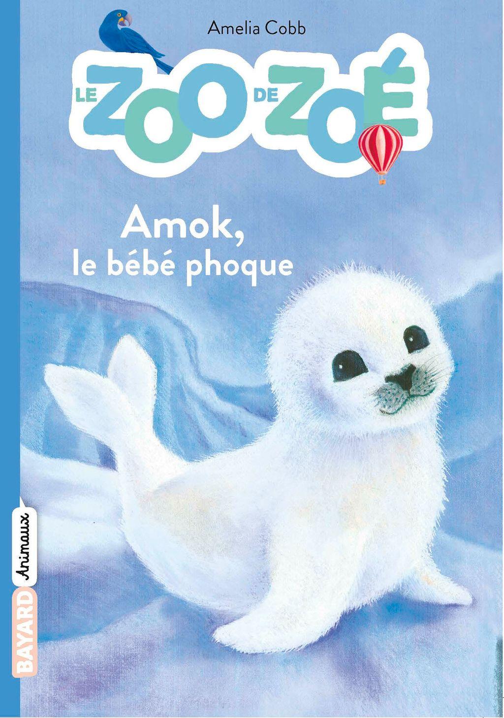 Couverture de «Amok, le bébé phoque»