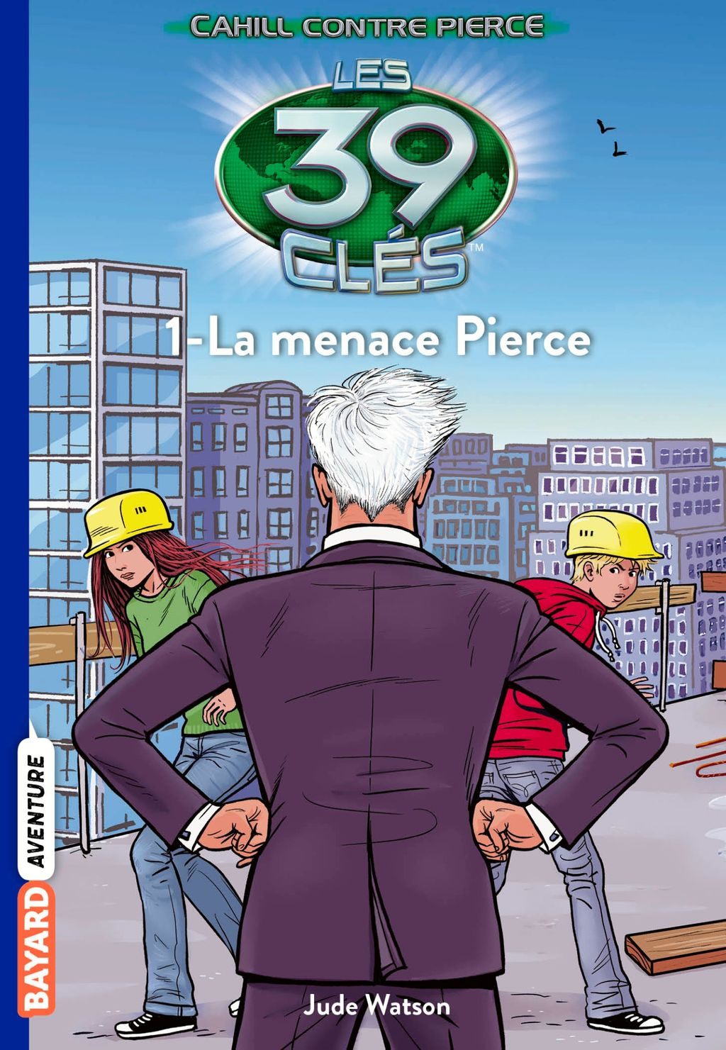 Couverture de « La menace Pierce »