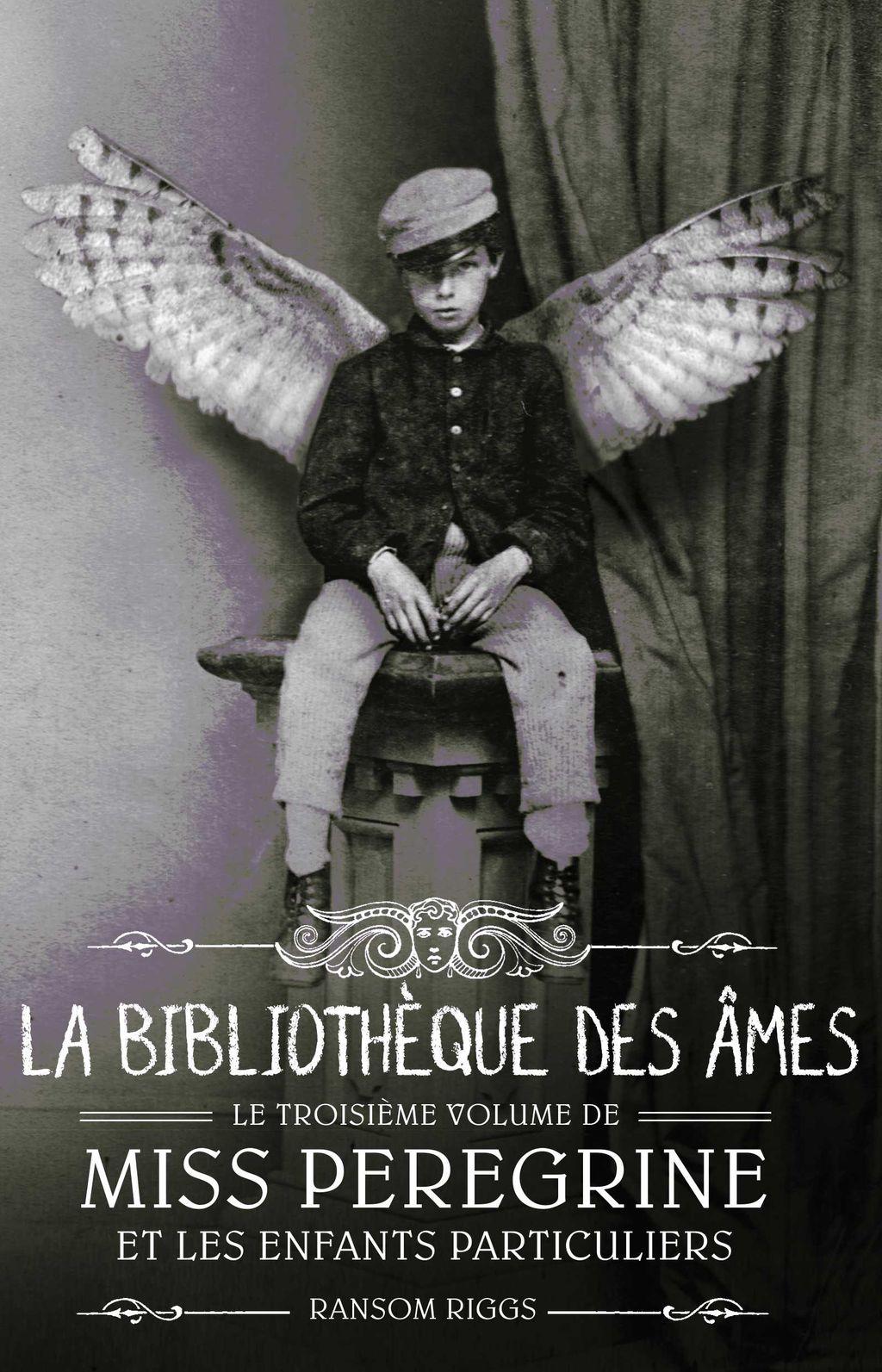 Couverture de «La bibilothèque des âmes»