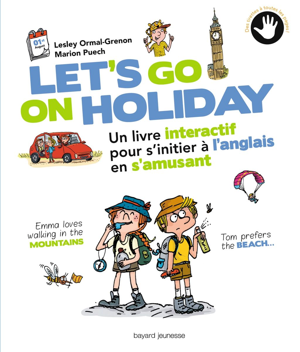 Couverture de « Let's go on holiday »