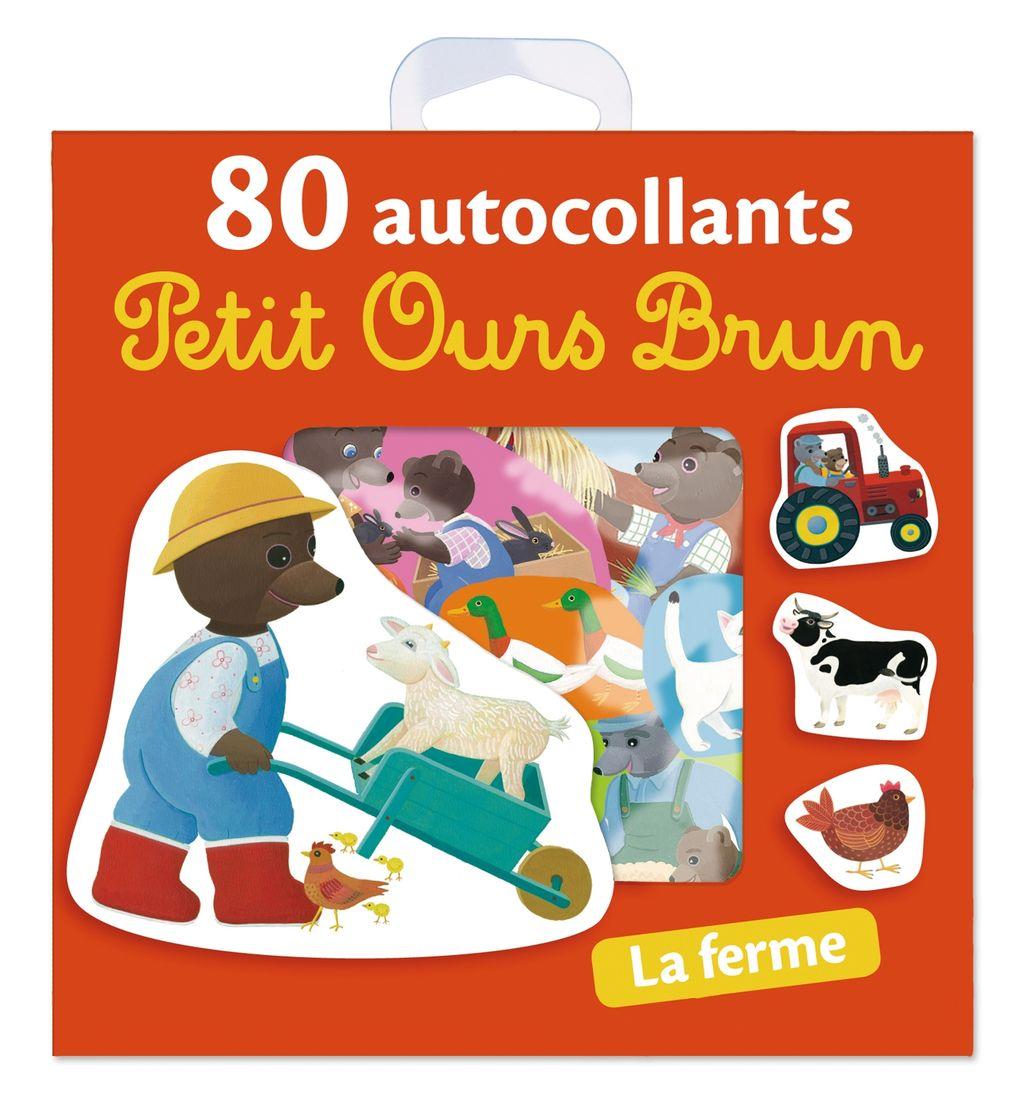 «La ferme – 80 autocollants Petit Ours Brun» cover