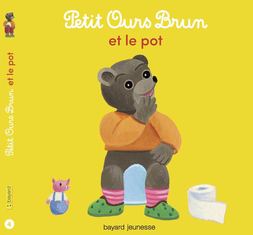 Couverture de «Petit Ours Brun et le pot»