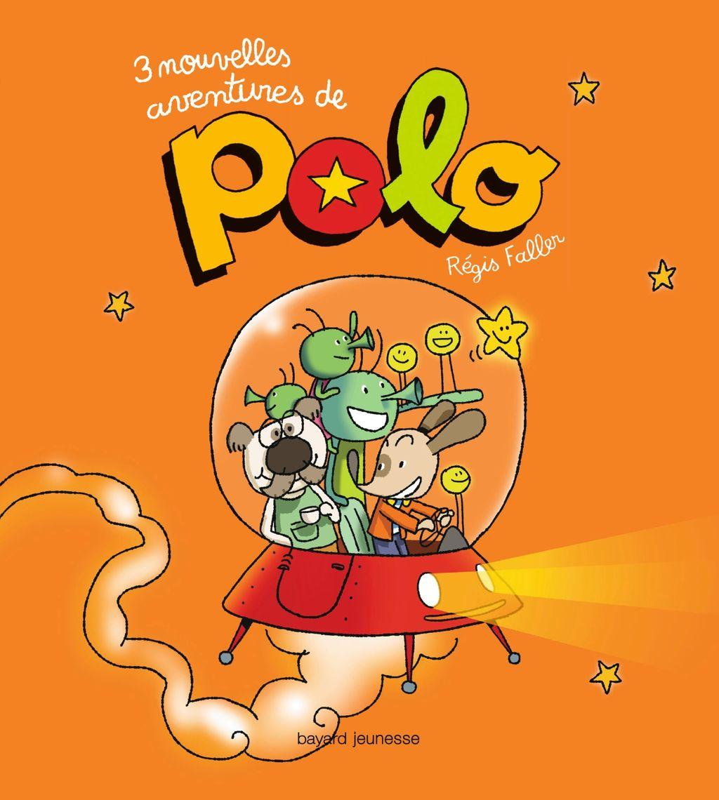 «3 nouvelles aventures de Polo» cover