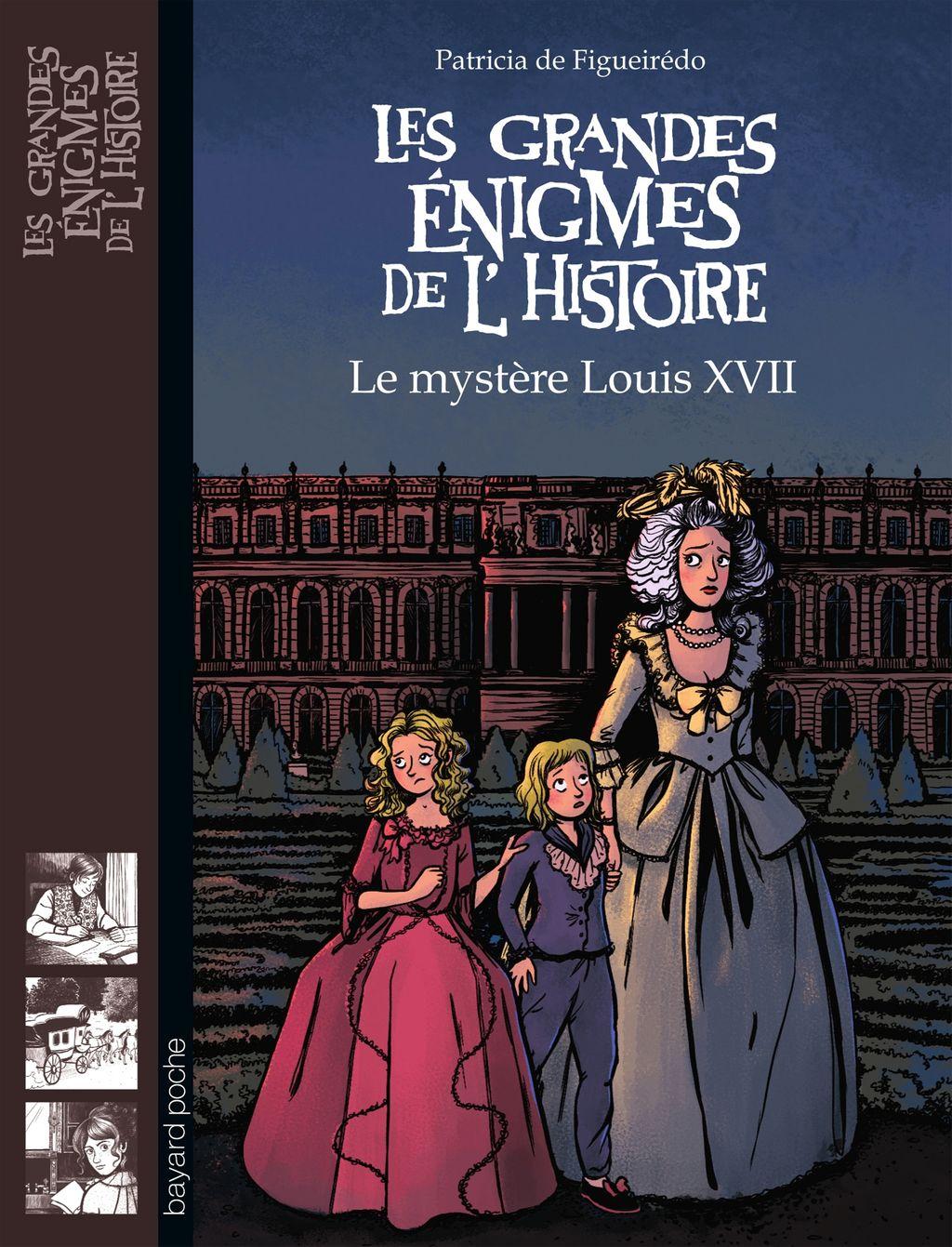 Couverture de «Le mystère Louis XVII»