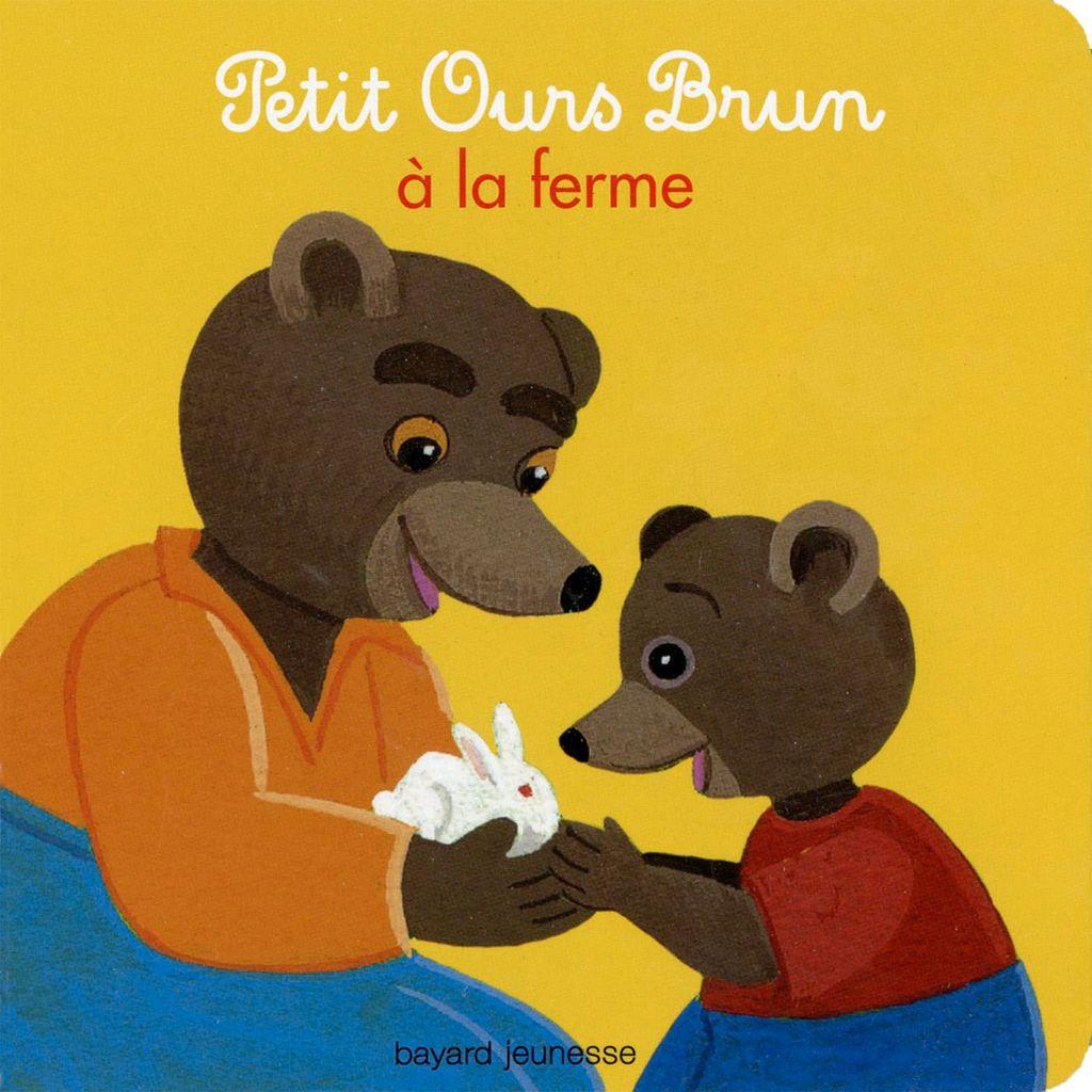 «Petit Ours Brun à la ferme» cover