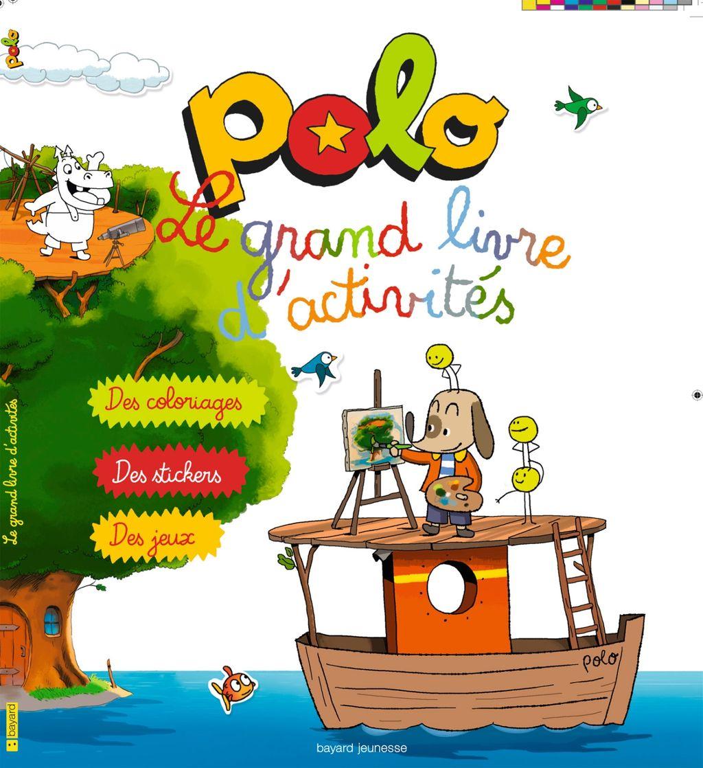 «Le grand livre d'activités Polo» cover