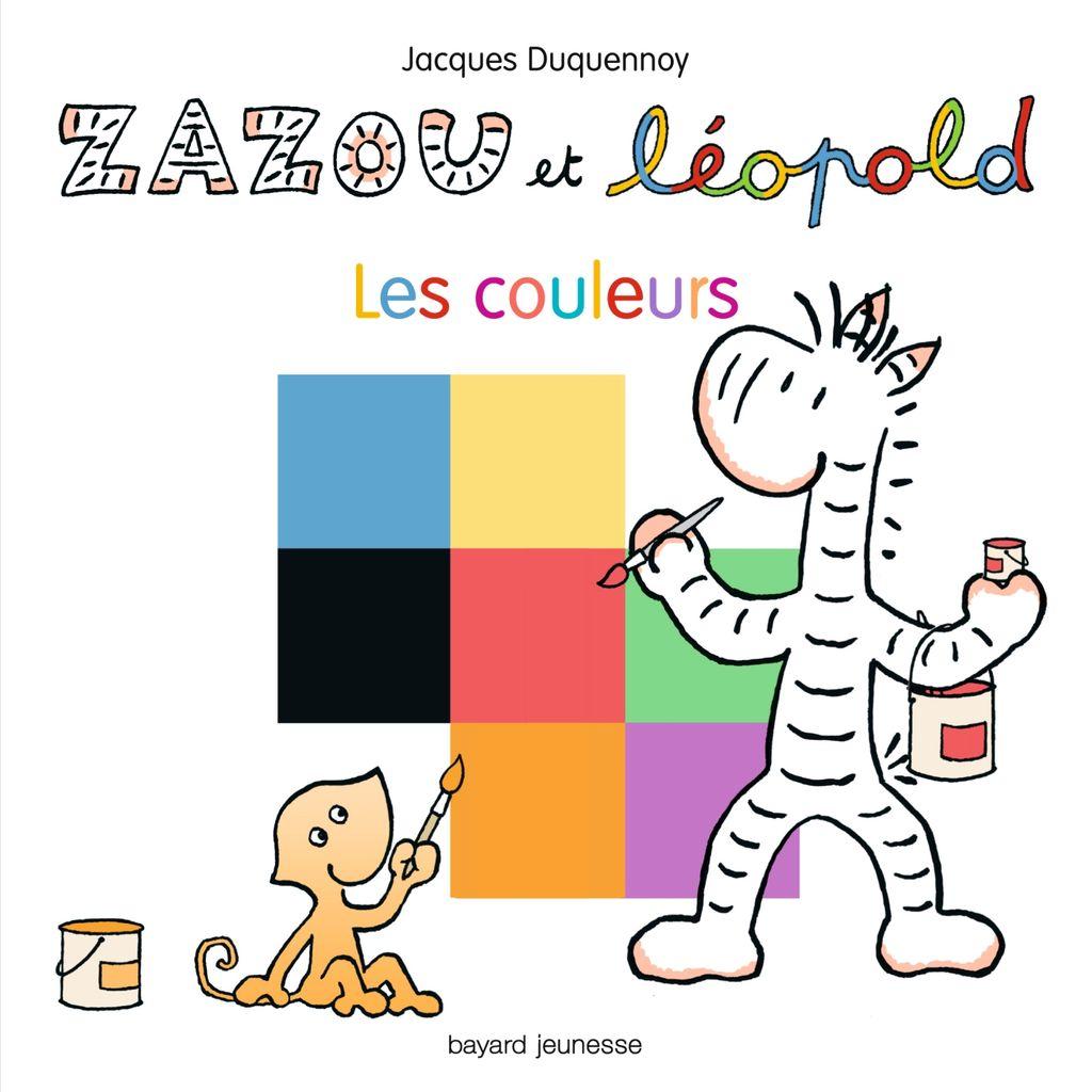 «Zazou et Léopold – Les couleurs» cover